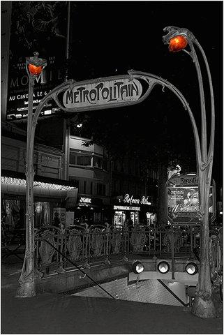 Metroeingang