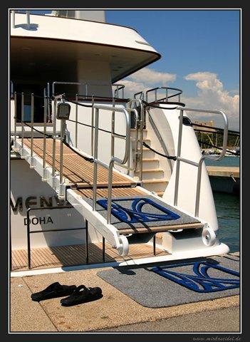 Hafen in Antibes