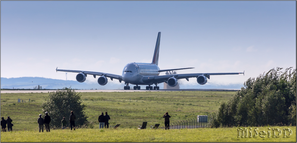 A380 Start in DRS