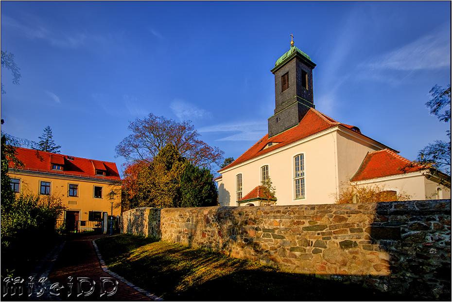 Alte Kirche in Klotzsche