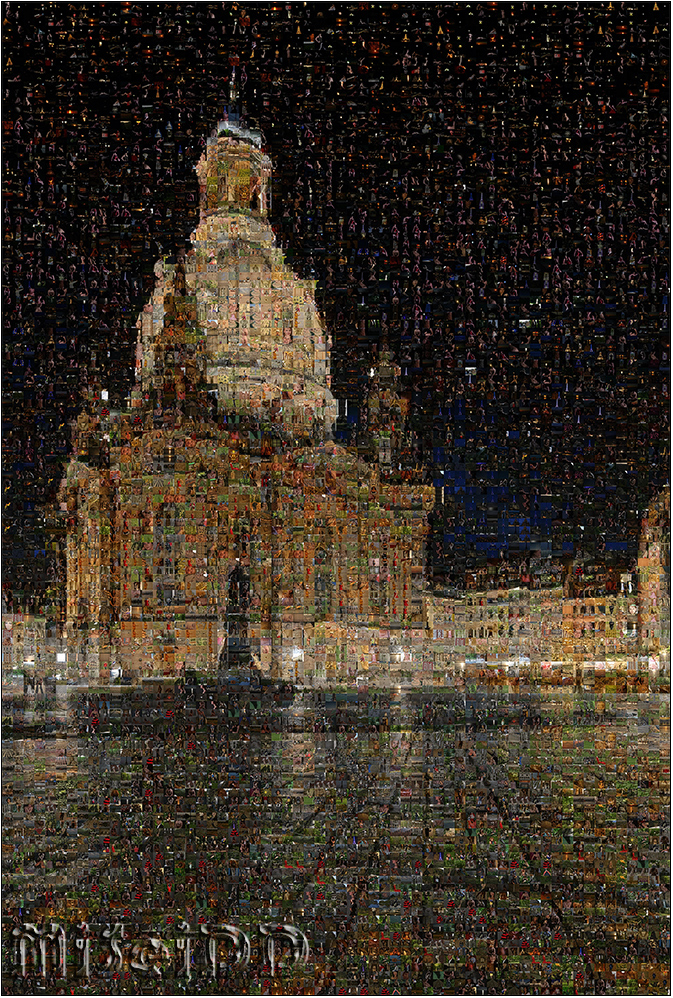 Frauenkirche Mosaik