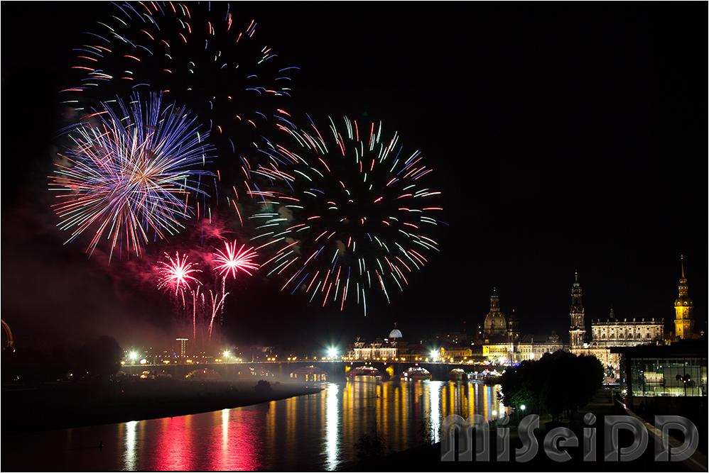 Stadtfest Feuerwerk