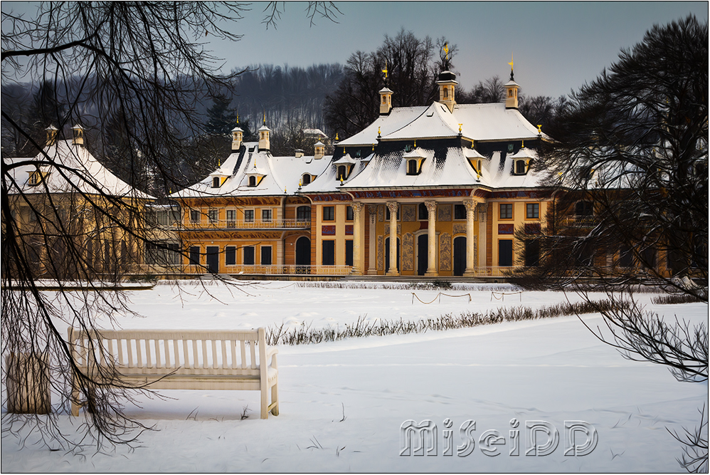 Pillnitz im Winter