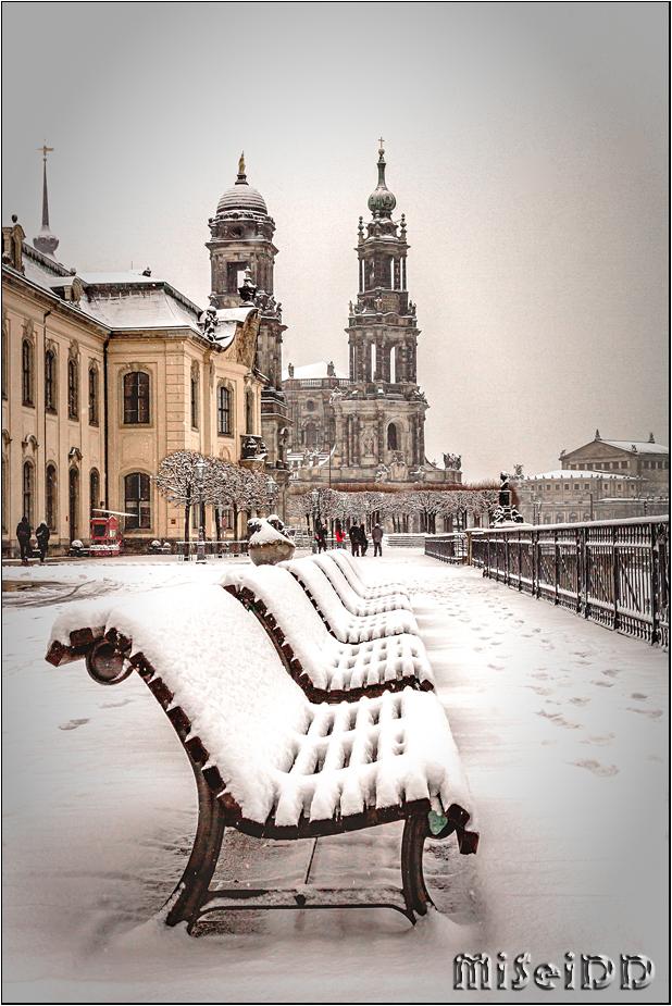 Winter Brühlsche Terrasse