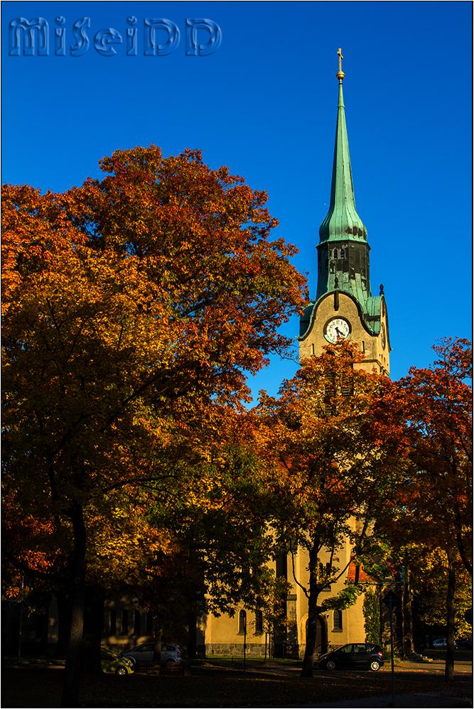 Kirche in Klotzsche