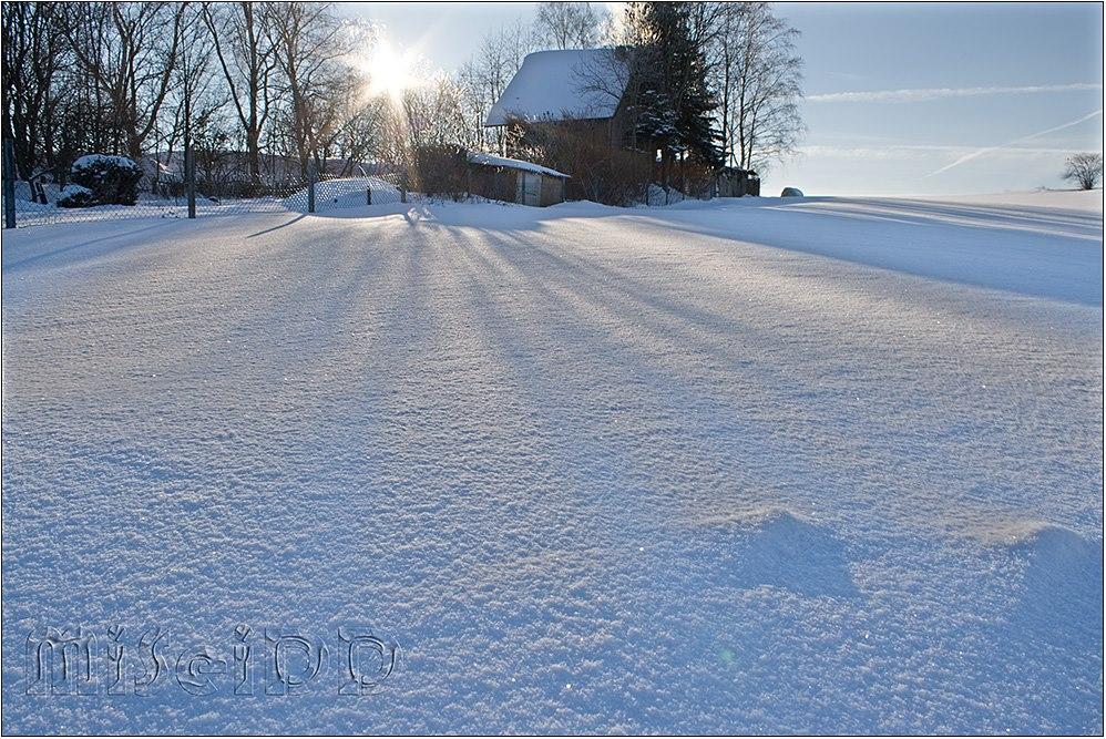 Winter in Schneeberg