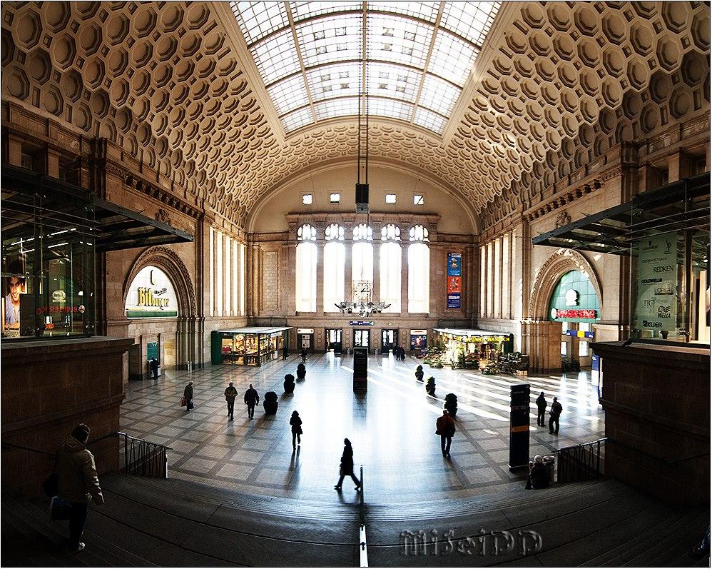 Westhalle im Leipziger Hauptbahnhof
