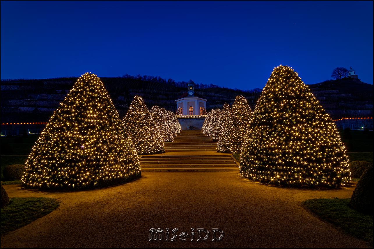 Schloss Wackerbarth zu Weihnachten